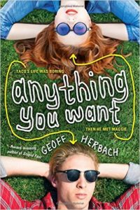 Book Review: 'Anything You Want' by Geoff Herbach
